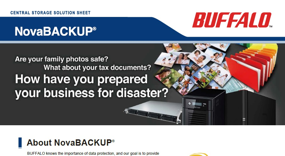 Reliable backup solutions for business and homeReliable backup solutions for business and home